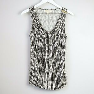 MICHAEL Michael Kors Cowl Neck Sleeveless Blouse